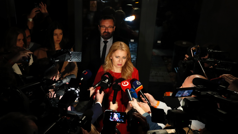 Slovakia could elect its 1st female head of state