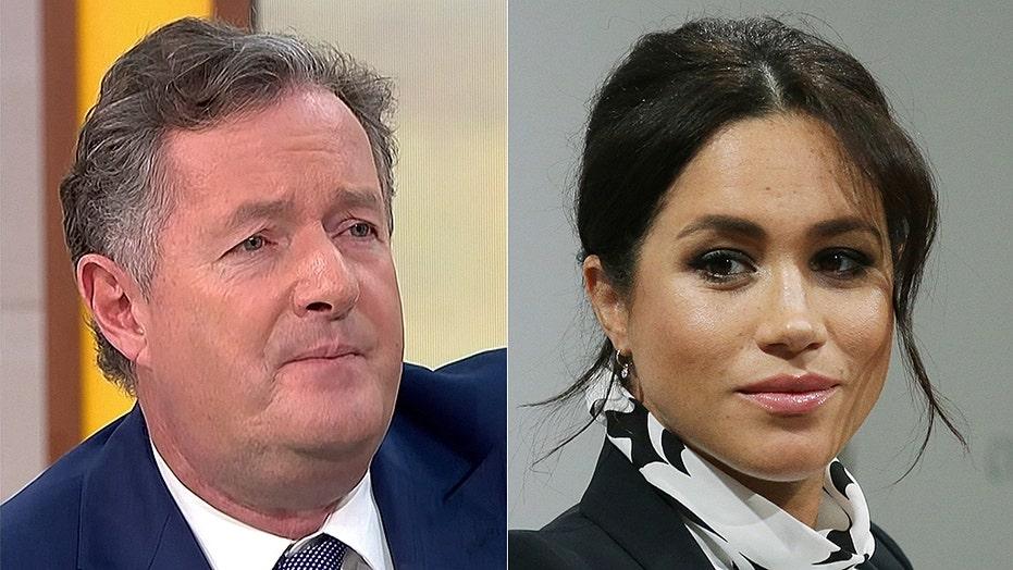 Piers Morgan calls Meghan Markle 'disingenuousness,' ponders 'ban' on British princes marrying Americans