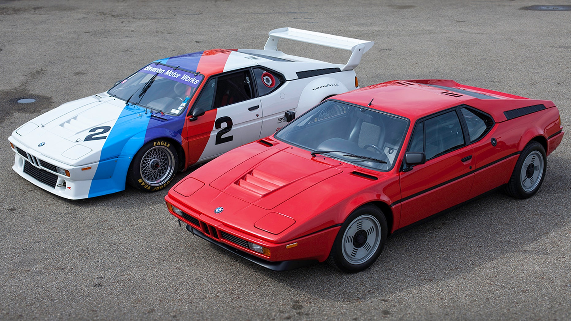 Pair of BMW M1s