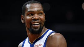Kevin Durant recruitment stands pop up around New York City as Knicks fans hope to lure star to Big Apple