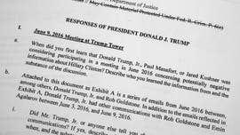 Trump's written -- at times snarky -- answers to Mueller's questions revealed