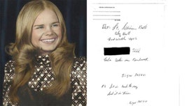 Texas police seek author of mystery letter in girl's cold case murder 45 years ago