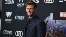 Chris Hemsworth's workout was so intense, his shirt 'burst into flames'