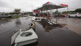 Powerful, deadly storms continue to move across South