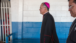 Bishop critical of Nicaragua's Ortega leaves for Vatican