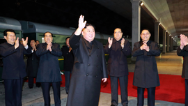 North Korea's Kim arrives in Russia before summit with Putin