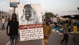 Activist: Sudan protest leaders meet with military rulers