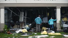 The Latest: Injuries reported in Mississippi from tornado