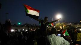 The Latest: Sudan protesters halt talks with military