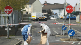 Revulsion in Northern Ireland over riot, fatal shooting