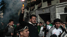 Wit and grit: Algeria's sizeable youth lead fight for change
