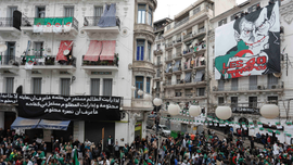 Young Algerian protester dies of injuries; police accused