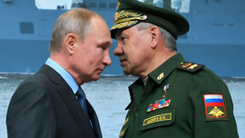 Putin views launch of new submarine to carry nuclear drones