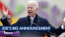 Joe Biden has a big 2020 announcement; Putin and Kim have 'good' nuke talks