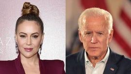 Alyssa Milano explains silence on Joe Biden sexual assault allegation, says men deserve 'due process'