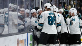 Hertl lifts Sharks past Vegas 2-1 in 20T to force Game 7