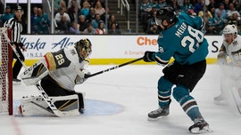Sharks start fast to stay alive, beat Golden Knights 5-2