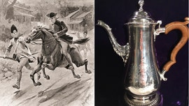 Stunning Paul Revere silverware reveals patriot's incredible talents as a silversmith