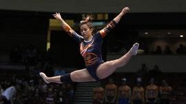 33f394fa5fe Auburn gymnast who broke both knees during routine walks down aisle for  wedding