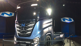 Arizona's Nikola Motor Company touts production of hydrogen-powered semitrucks