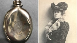 Incredible Titanic tale: Silver flask was damaged in the ship's death throes, reunited with its owner