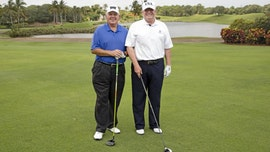White House releases snaps of Trump golfing with Rush Limbaugh
