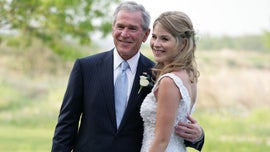 Jenna Bush Hager jokes her father, former President George W. Bush, 'can't speak English' well