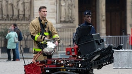 Notre Dame Cathedral kept standing amid fire with giant robot 'Colossus'