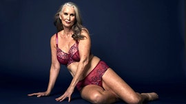 59-year-old mom becomes lingerie model after daughters urge her to 'go for it'