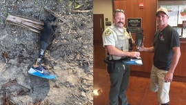 California amputee who lost prosthetic leg while skydiving gets it back after deputy finds it in unlikely spot