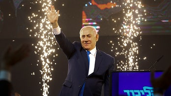 Benjamin Netanyahu likely to win Israeli prime minister election after opposition party concedes