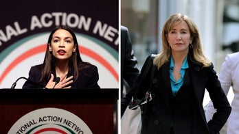 Alexandria Ocasio-Cortez slams justice system amid reports of Felicity Huffman's alleged prison sentence