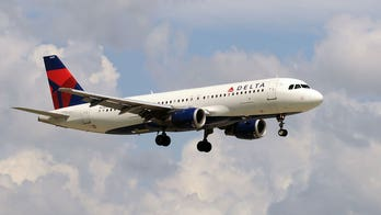 Delta plane's exterior reportedly 'crumpled' during hard landing