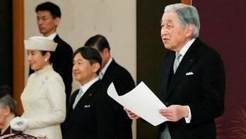 Japan's emperor declares abdication in historic ceremony in Tokyo