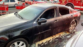 California man sets self on fire in Target parking lot: officials
