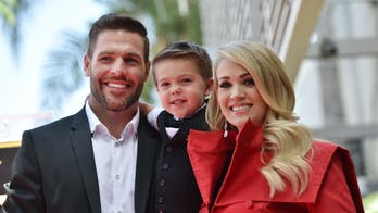 Carrie Underwood's son showers her with love on 'Cry Pretty' tour