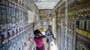 Discovery of Egyptian dignitary's 4,000-year-old colorful tomb stuns archaeologists