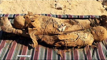 Dozens of mummies, including mother and child, discovered in Egyptian tomb