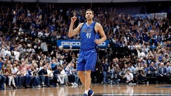 Dirk Nowitzki, after final Dallas Mavericks home game, announces retirement