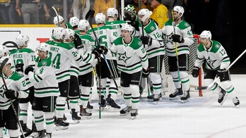 Rookie scores twice, Stars beat Preds for 1-0 series lead