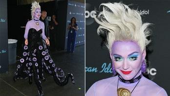 'American Idol' judge Katy Perry's Ursula costume shocks fans on Disney night