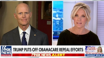 Florida Sen. Rick Scott  says Dems are out to ruin health care, touts bill focused on drug costs