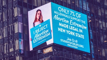 Pro-life Times Square billboard slams New York's 'abortion extremism'