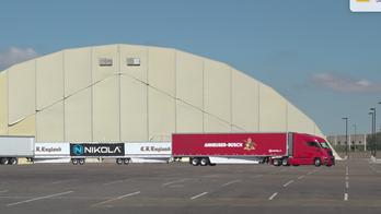 Arizona's Nikola Motor Company touts production of hydrogen-powered semis