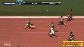 Texas high school sprinter blows past competition with incredible 100-meter dash