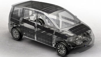 Solar powered car gets the green light