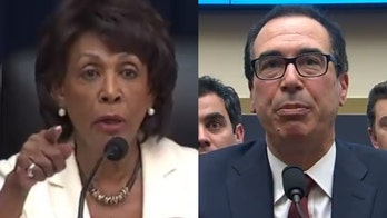 Mnuchin has fiery exchange with Rep. Maxine Waters during hearing