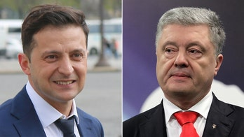 Comedian could unseat Ukraine's Poroshenko in this Sunday's presidential runoff