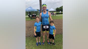 South Carolina dad competing in Ironman a year after having stomach removed