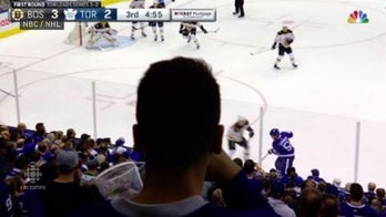 Canadian hockey fan unknowingly blocks final moments of playoff game shown to U.S. viewers